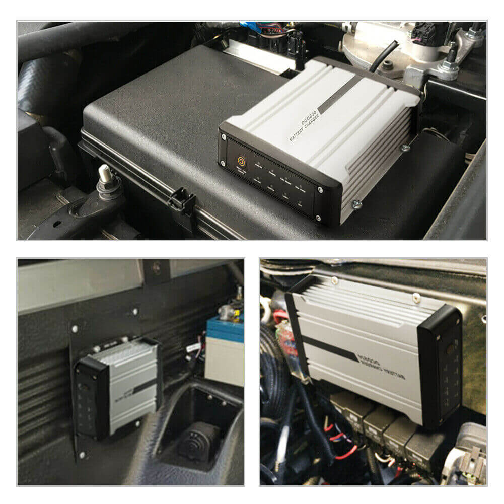 dc/dc charger, dual input 20 amp, 12V dual battery system