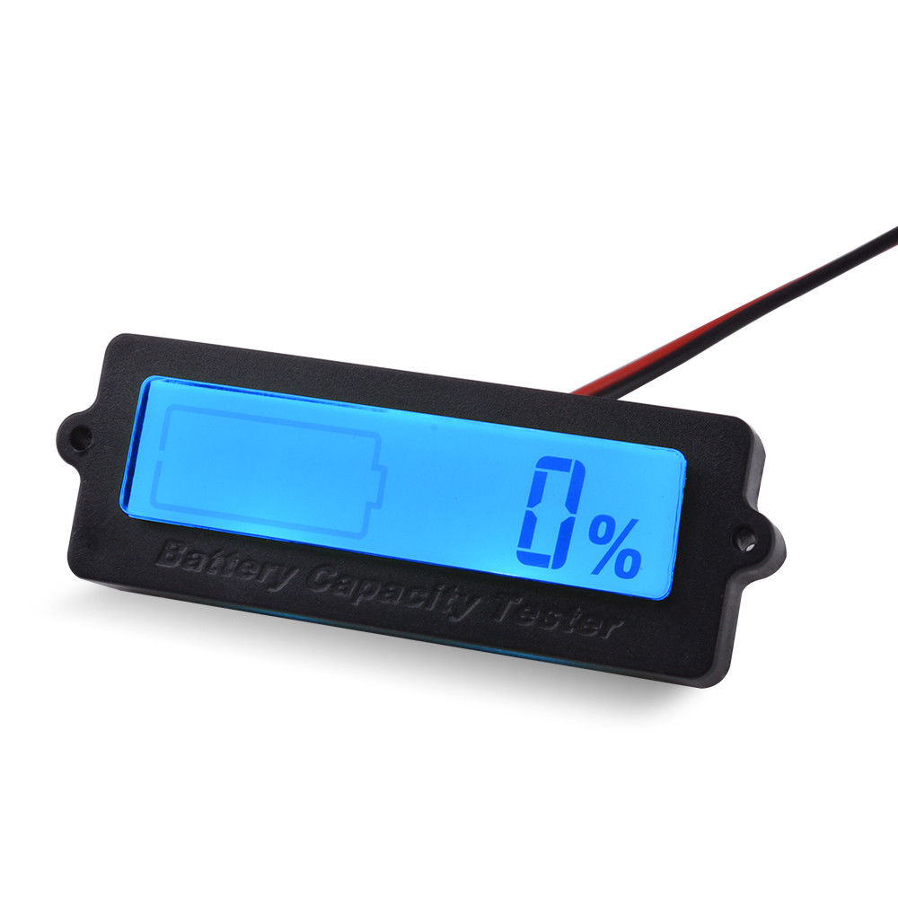 Battery lcd monitor