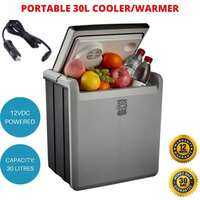 30L Portable Car Fridge 12V Cooler Warmer Camping Caravan Boat Brass Monkey New