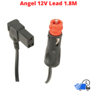 Engel Fridge Power Lead Cable Merits/Cigarette Lighter Plug 12V 1.8M Right Angle